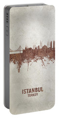 Istanbul Turkey Skyline Portable Battery Charger