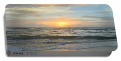 Portable Battery Charger featuring the photograph 9/17/18 Obx Sunrise  by Barbara Ann Bell