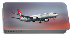 Turkish Airlines Boeing 737-9f2 Portable Battery Charger