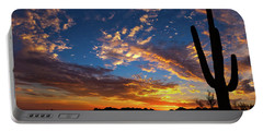 Portable Battery Charger featuring the photograph A Blanket Of Many Colors by Rick Furmanek
