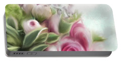 A Bouquet Of Thankfulness Portable Battery Charger