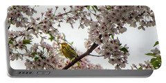 A Canary In A Cherry Tree  Portable Battery Charger