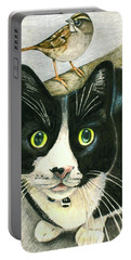 A Cat Named Sparrow Portable Battery Charger