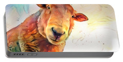 A Curious Sheep Called Shawn Portable Battery Charger