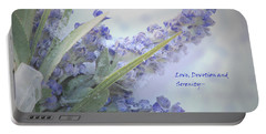 A Gift Of Lavender Portable Battery Charger