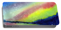 A Little Aurora Borealis Portable Battery Charger
