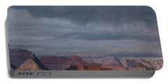 A Little Rain Over The Canyon Portable Battery Charger