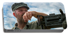 Portable Battery Charger featuring the photograph A Moment Of Peace by Travis Rogers