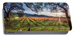 A New Day In Napa Portable Battery Charger