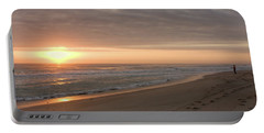 Portable Battery Charger featuring the photograph A New Day by John M Bailey