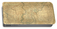 A Plan Of The City Of Philadelphia And Environs, 1808-1811 Portable Battery Charger
