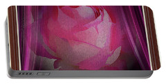 A Purple Rose On Stage Portable Battery Charger