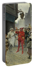 A Scene From Francois Rabelais Portable Battery Charger