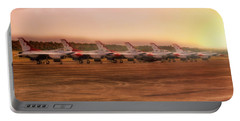 A Thunderbirds Sunrise - Air Force - F-16 Portable Battery Charger