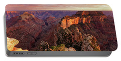 Portable Battery Charger featuring the photograph A View From Cape Royal by Rick Furmanek