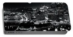 A View Of Pittsburgh Pa From Above Portable Battery Charger