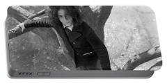 A Woman In A Tree, 1972 Portable Battery Charger