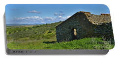 Abandoned Cottage In Alentejo Portable Battery Charger