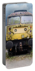 Abandoned Yellow Train Portable Battery Charger
