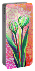 About To Bloom Portable Battery Charger