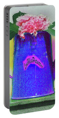 Abstract Floral Art 344 Portable Battery Charger