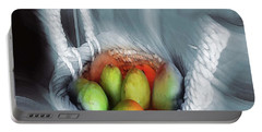 Abstract Fruit Art   104 Portable Battery Charger