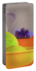 Abstract Fruit Art   106 Portable Battery Charger