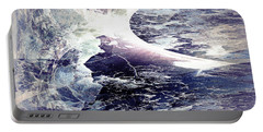 Abstract Ocean Enigma Portable Battery Charger