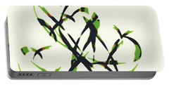 Abstract On Acrylic Portable Battery Charger