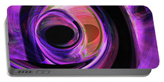 Abstract Rendered Artwork 3 Portable Battery Charger