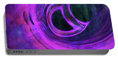 Abstract Rendered Artwork 4 Portable Battery Charger
