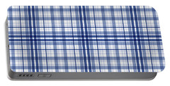 Abstract Squares And Lines Background - Dde613 Portable Battery Charger