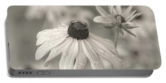 Portable Battery Charger featuring the photograph Achromatic Adoration by Dale Kincaid