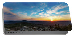 Portable Battery Charger featuring the photograph Achtermann Sunset, Harz by Andreas Levi