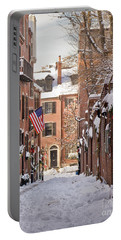 Acorn Street Snowfall Portable Battery Charger