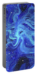 Acrylic Galaxy Painting Portable Battery Charger