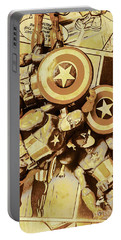 Action Figure Comic Strip Portable Battery Charger