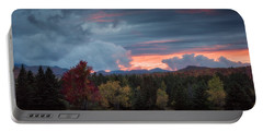 Adirondack Loj Road Sunset Portable Battery Charger