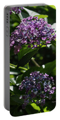 Afternoon Garden View Portable Battery Charger