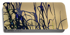 Portable Battery Charger featuring the digital art Afternoon Shadows by Gina Harrison