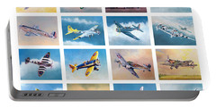 Airplane Poster Portable Battery Charger