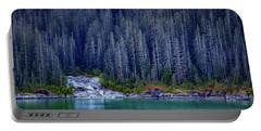 Alaskan Coastline Beauty Portable Battery Charger