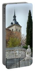 Alcazar Of Toledo - Spain Portable Battery Charger