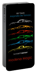 Alejandro's Sports Car 60 Silhouettehistory Portable Battery Charger