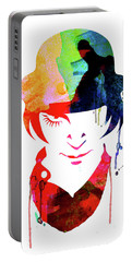 Alex Watercolor Portable Battery Charger