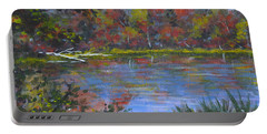 Algonquin Lake Sketch Portable Battery Charger