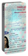 Alice Cooper Passport 1997 Portable Battery Charger