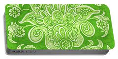Alien Bloom 4 Portable Battery Charger
