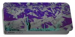 Alien Colors On Mount Lemmon Portable Battery Charger
