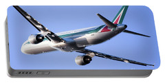 Alitalia Commercial Flight E2 Portable Battery Charger